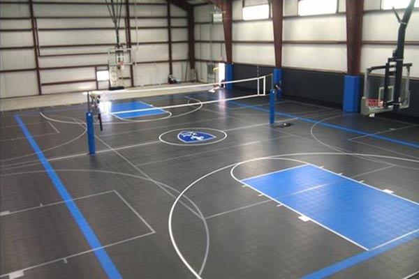 PVC and rubber floors